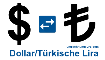 TГјrkische Lira Dollar Kurs