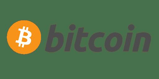 Symbol von Bitcoin Mit Transparentem