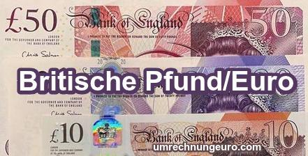 1 Pfund in Euro Realtime