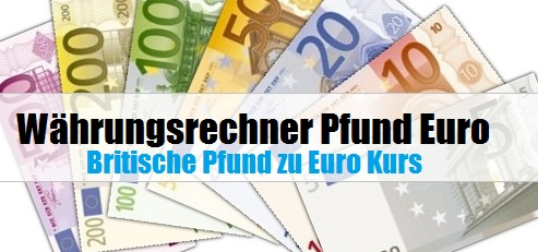 Rechner euro pfund