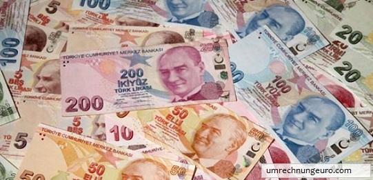 euro türkische lira