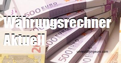 Währungsrechner Aktuell