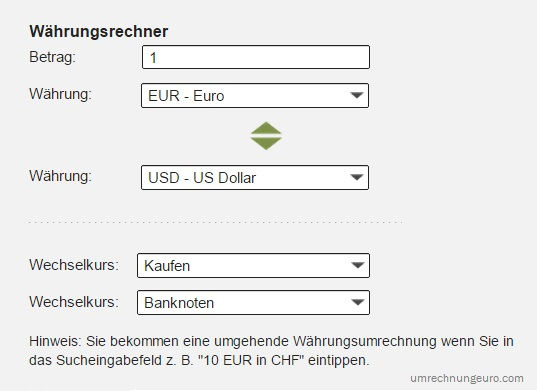 zloty euro umrechner